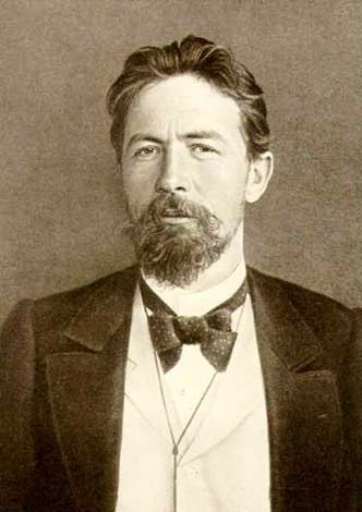 Russian author and playwright Anton Chekhov
