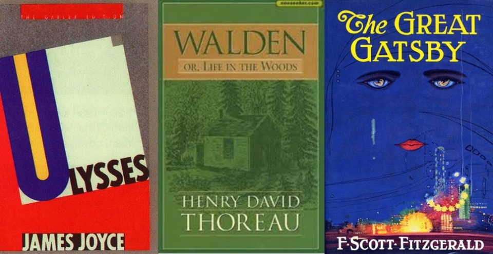 Ulysses, Walden, and The Great Gatsby include some of the longest lists in literature. For a list of fifteen lists in literature (that's pretty meta) see here.
