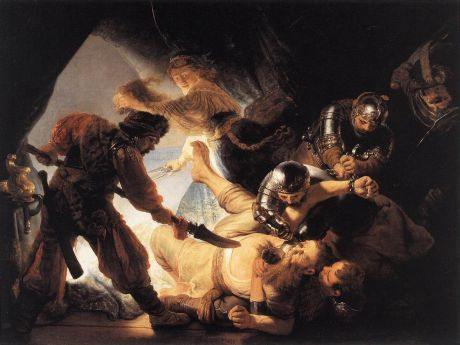 The Binding of Samson, 1636. Rembrandt