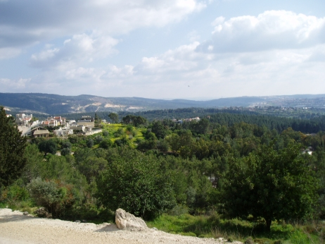 "Eshtaol Forest, Israel. According to the Tanakh, Samson was buried ""between Zorah and Eshtaol."" Based on the ambiguity of this phrase, Hazal suggest that his remains were scattered throughout the region."