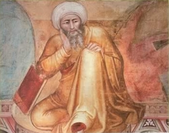 Ibn Rushd, commonly known by his Latinized named, Averroes.