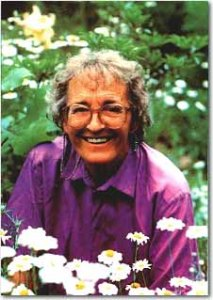 Psychiatrist Elisabeth Kübler-Ross, noted for developing the Kübler-Ross model of grief