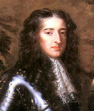William of Orange, who usurped James II during the Glorious Revolution.