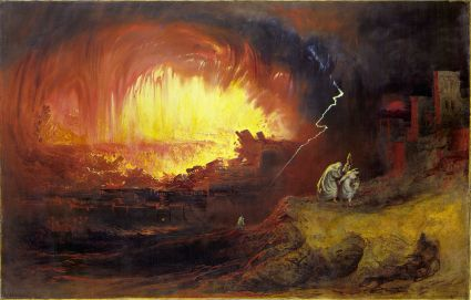 The Destruction of Sodom and Gomorrah (1852), John Martin
