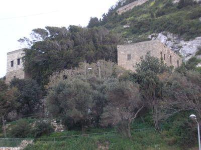 The Cave of Eliyahu in Carmel, Israel