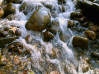 water-flowing-over-rocks
